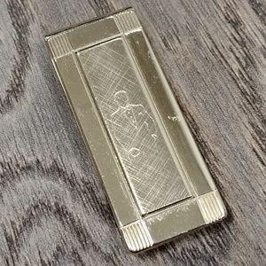 Other - Vintage Gold Etched Money Clip